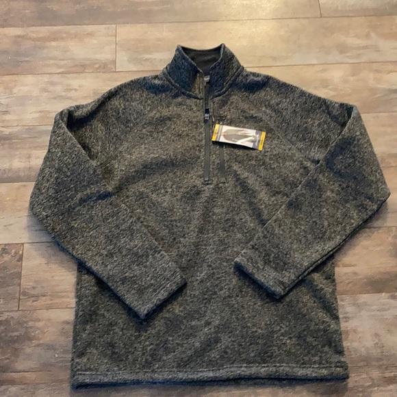 NWT Eddie Bauer 1/4 zip Fleece Sweater